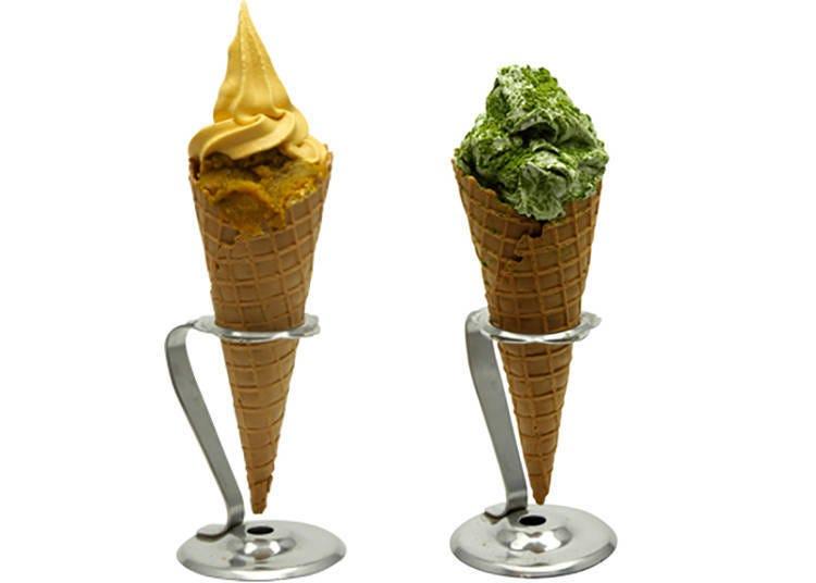 清水寺周邊美食⑧「清水二年坂 石疊」可以嚐到素材的原味,超好吃霜淇淋