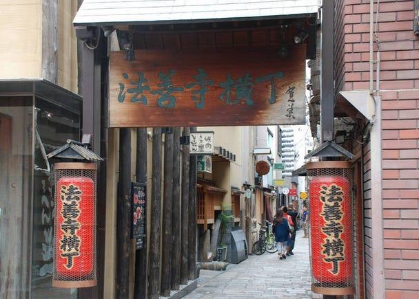 13. Hōzenji Yokochō: The symbol of Minami Osaka, full of an olden Osaka charm