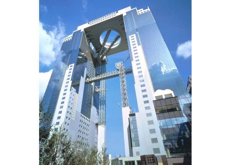 7. 지상 173m에서 오사카의 절경을 누리는 '우메다 스카이 빌딩'