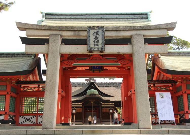 大阪景点⑪香火鼎盛的全日本住吉神社总本社「住吉大社」