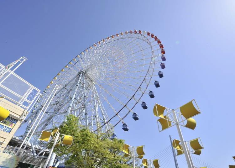 大阪景點⑩具有世界最大級規模的「天保山大摩天輪」