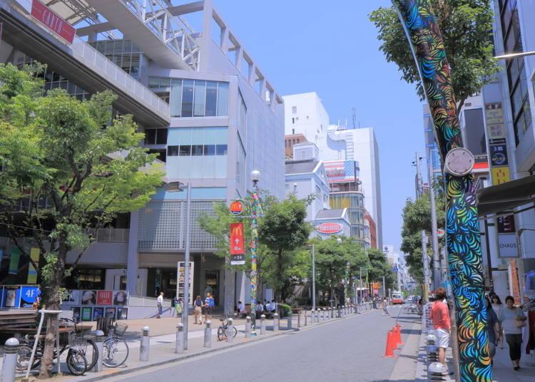 大阪景點⑭引領年輕人文化的活力四射街道「美國村」