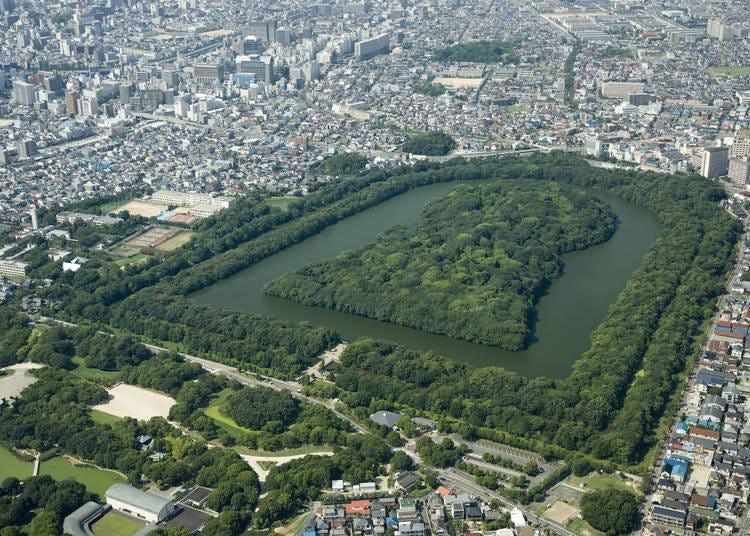 大阪景點⑱登錄為世界遺產的「百舌鳥・古市古墳群」