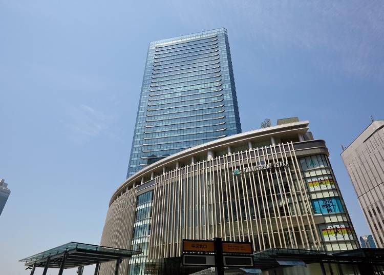 大阪景點⑥「GRAND FRONT OSAKA」購物及美食一次滿足!