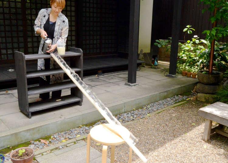 日本の夏の風物詩 「流しそうめん」を手作りして、自宅で和の風情を体験!