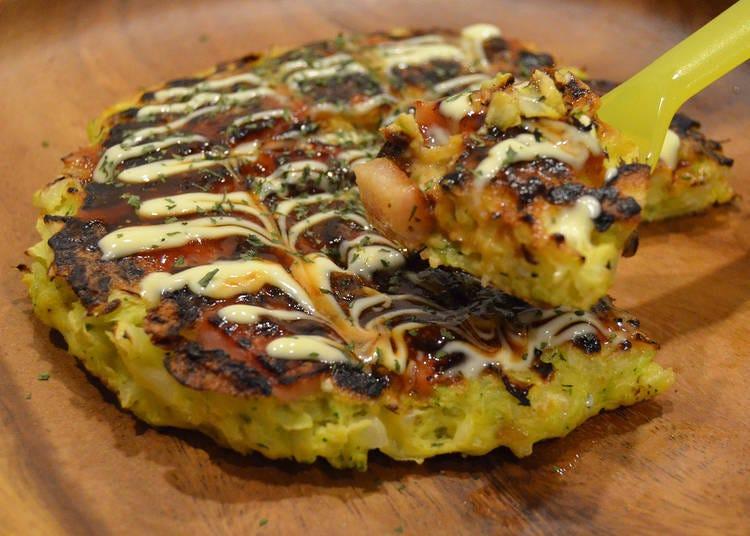 Irresistibly Soft and Fluffy Okonomiyaki!