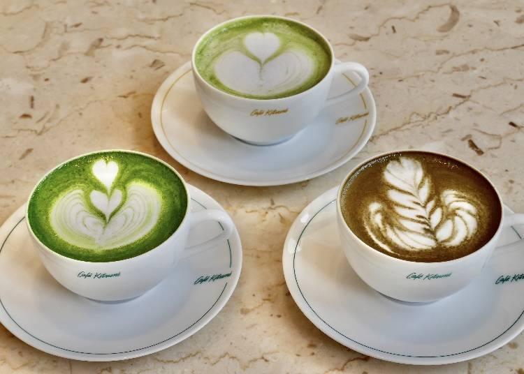 5)CAFÉ KITSUNÉ KYOTO ShinPuhKan