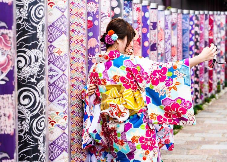 岚山一日游⑧在「和服森林」拍张赞数爆多的美照