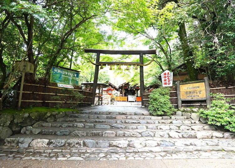 嵐山一日遊⑦在「野宮神社」許下締結良緣的心願