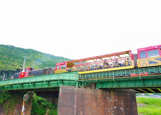 トロッコ 列車 嵯峨野