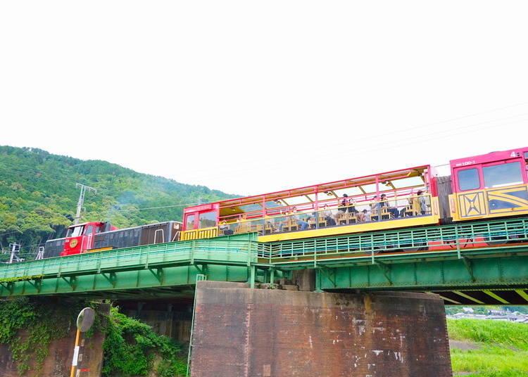 嵐山嵯峨野觀光小火車(嵐山小火車)的小簡介