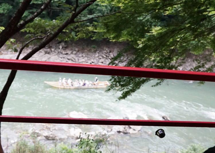 從嵐山小火車上所看的沿途風光&四季景色