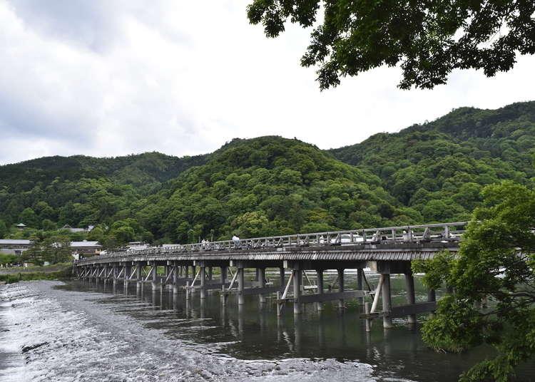 [保存版]京都嵐山渡月橋攻略!交通方式、周邊景點推薦