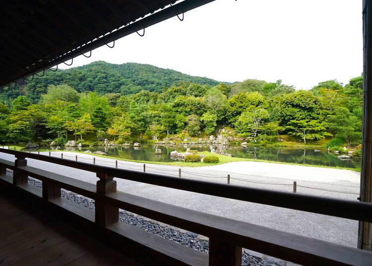 京都天龍寺的參拜時間和入場費