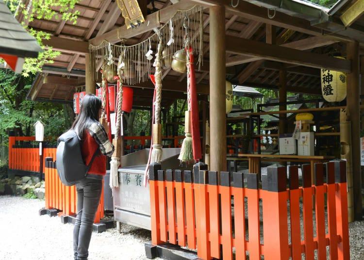 野宮神社正確的參拜方式