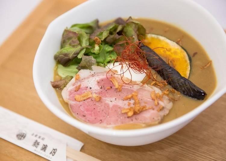 嵐山午餐⑥創業八十年老字號創作烏龍麵「京都 嵐山 自家製麵 新渡月」
