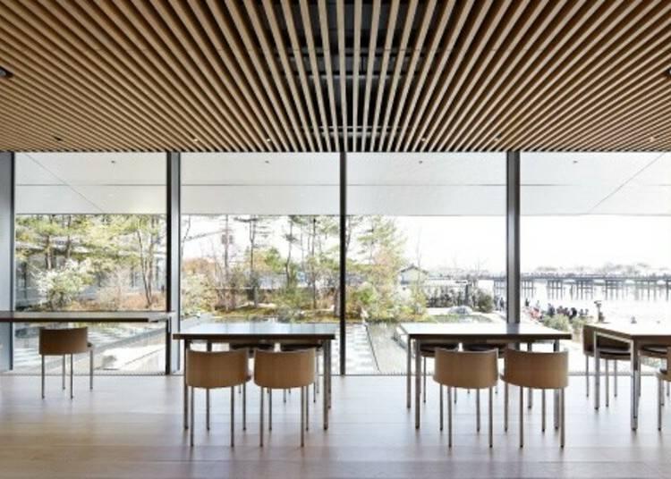 渡月橋を望む絶景ミュージアムカフェ「パンとエスプレッソと福田美術館」