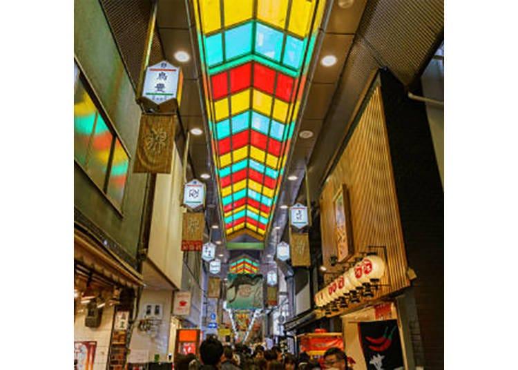 【京都錦市場商店街】京都の台所で、食べ歩きを楽しむ