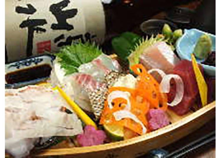【温石 左近太郎 本店】厳選食材を使った会席を手頃に楽しむ