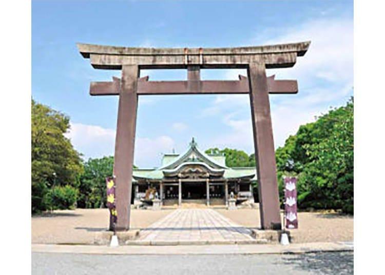【豊國神社(ほうこくじんじゃ)】太閤・豊臣秀吉を祀る、由緒ある神社