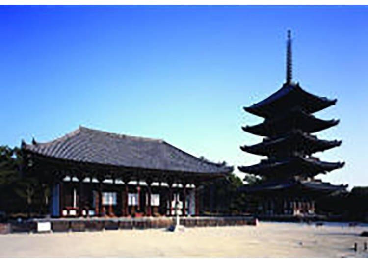 【興福寺】高さ50mの五重塔がシンボル