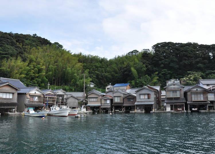 3. Ine's Funaya: Exotic port side landscapes