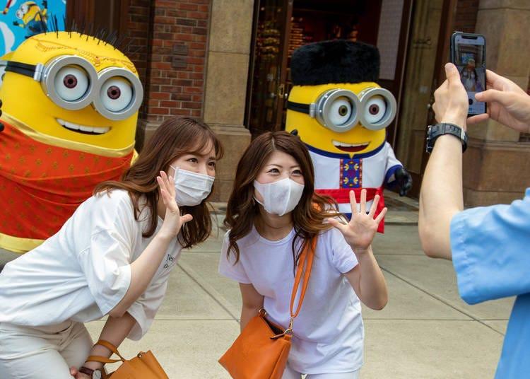 日本環球影城於2020年7月20號重新開放入場!