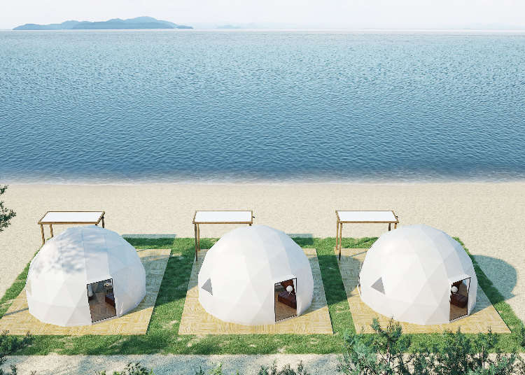 Crazy Domes Are Popping Up Around Japan