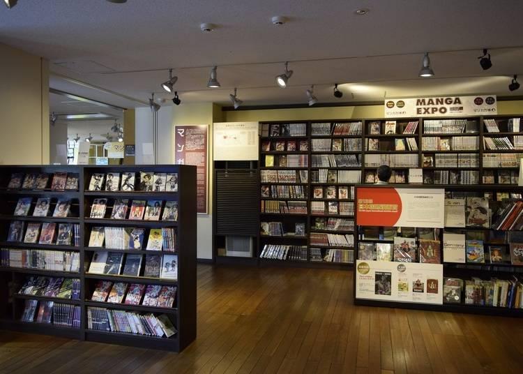 京都國際漫畫博物館的5萬本漫畫隨便你看!