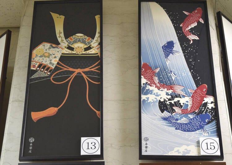 교토 특유의 전통 기념품을 골라보자