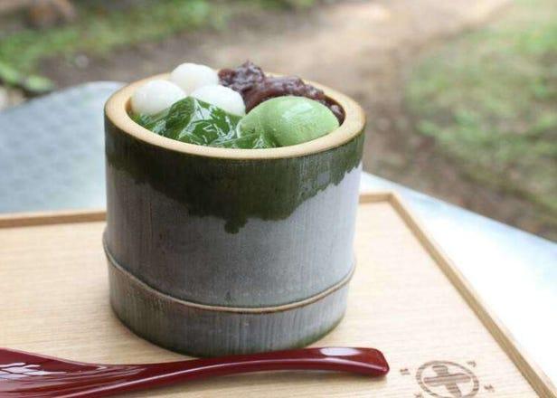 抹茶の香りに癒やされながら、「中村藤吉本店」で宇治茶の美味しさを満喫