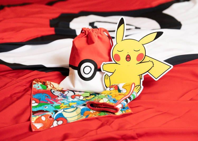 Limited-edition Pokémon souvenirs for guests!