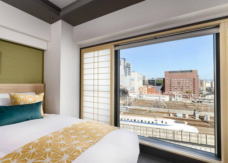 為了讓全家大小一起住宿,MIMARU京都內還準備了各種房型!