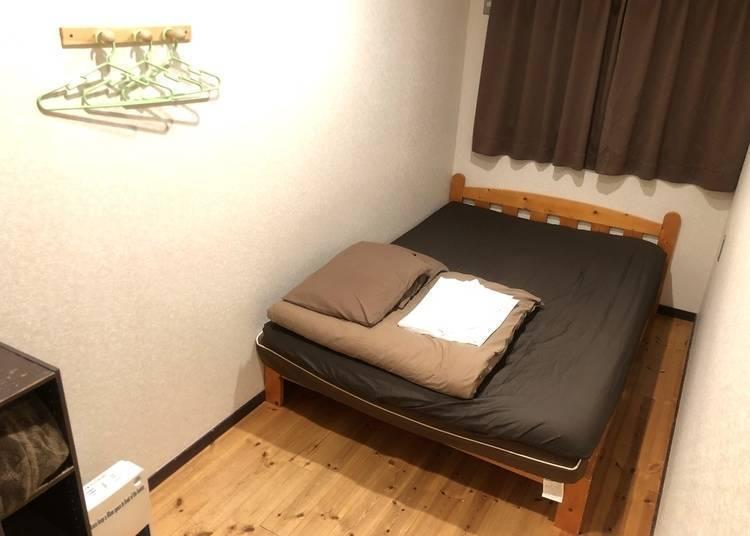 ①改建自京町家的「Guest House栞庵」