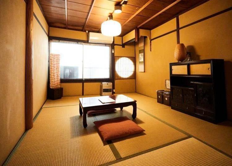 ④京町家×Guest House的开创先锋「Guest House和乐庵」