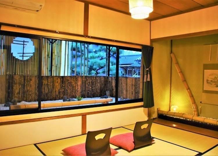 ②二條地區小型旅館「Guest House Oumi」