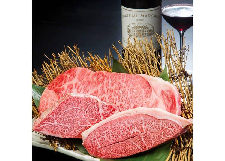 ソムリエ厳選のワインと黒毛和牛の至高のマリアージュ