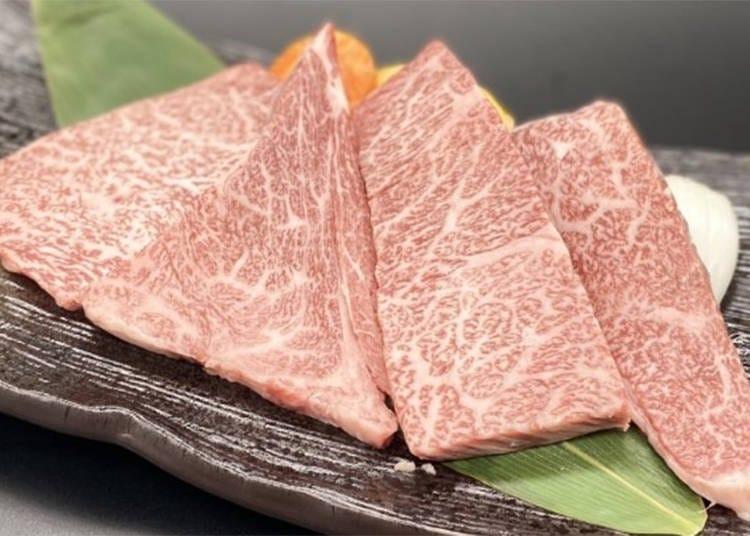 센다이 소의 칭호가 허락된 것은 육질등급 '5'의 고기뿐!