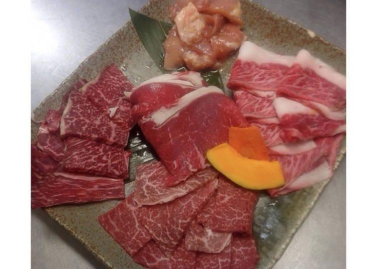 大阪和牛烤肉④「ZEROHACHI难波OCAT本店」提供HALAL清真认证的赤毛和牛