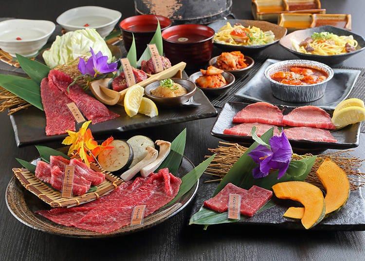 大阪和牛燒肉①「大阪燒肉 神戸ABURI牧場 本店」專門供應價格實惠的神戶牛!