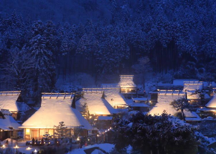 5. Miyama Kayabuki-no-Sato: Snow in Kyoto, Immersed in a Nostalgic Landscape