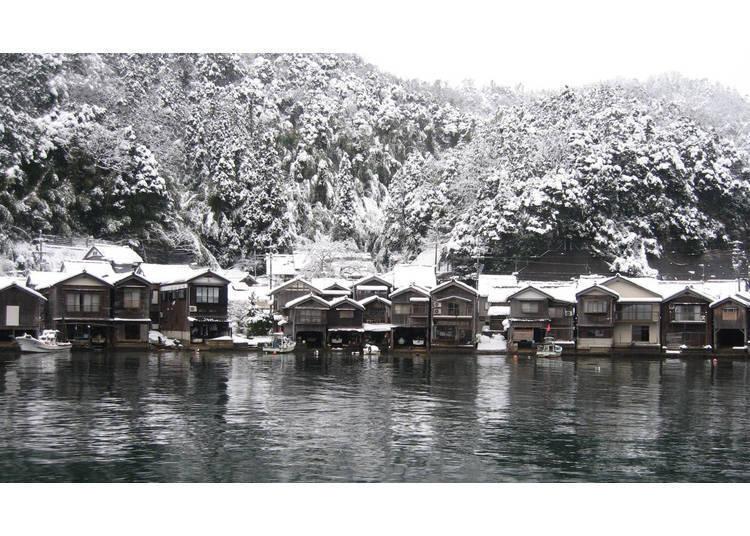 Ine no Funaya: An Unforgettable Landscape of Snow in Kyoto!