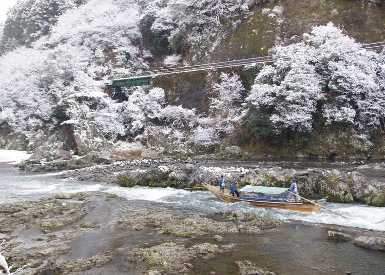 6. 被寂静所包围的溪谷之美「保津峡」