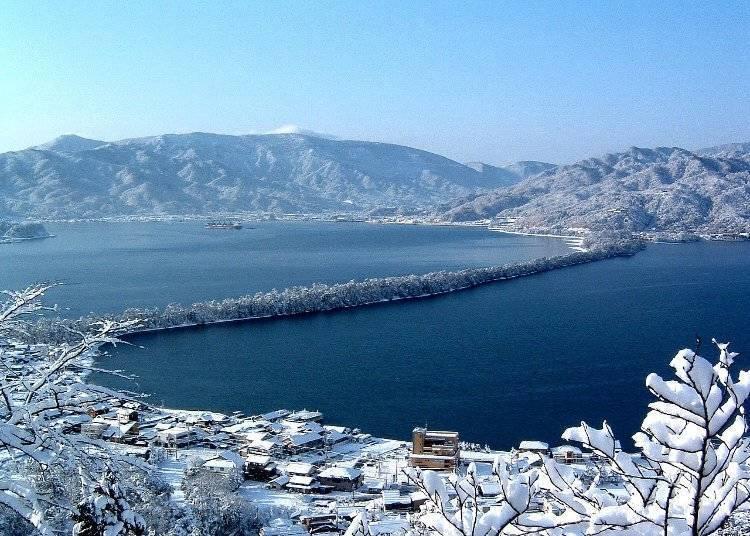 1. 可以觀賞夢幻的美景的日本三景「天橋立」