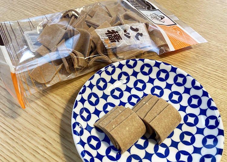 1.經典京都伴手禮就是它!和菓子老店的「角切八橋仙貝」
