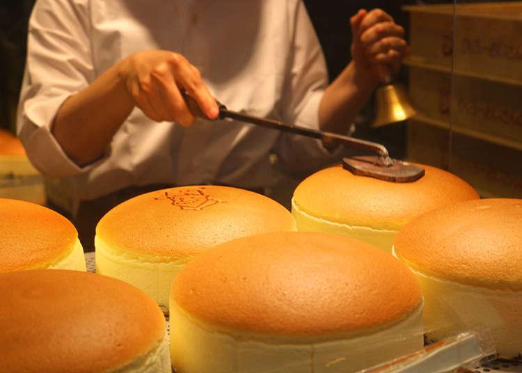 「りくろーおじさんの店」のチーズケーキは、絶対食べたい大阪限定グルメ!