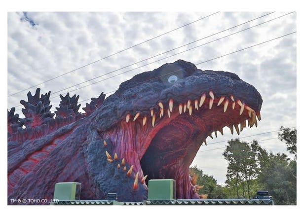 超逼真哥吉拉來啦!淡路島公園Anime Park「nijigennomori」,10/10盛大開幕哥吉拉遊樂設施