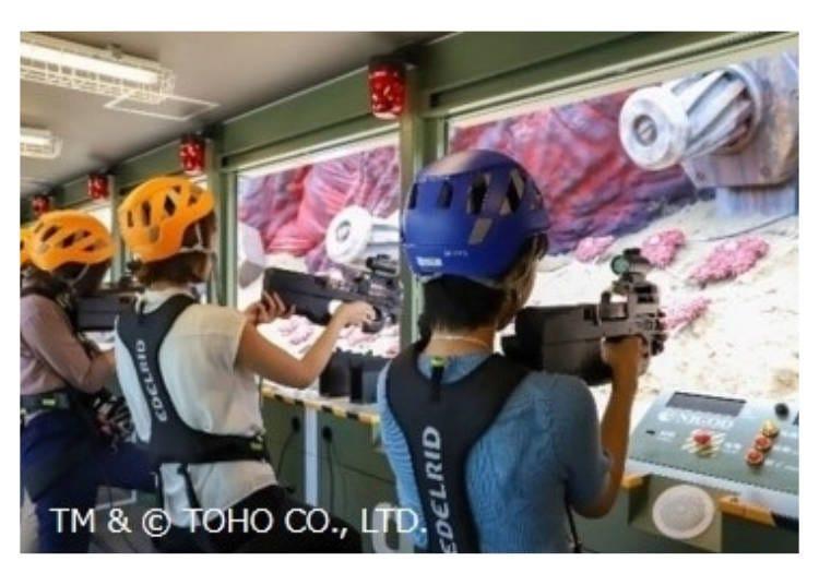 哥吉拉迎擊作戰~國立哥吉拉淡路島研究中心③哥吉拉細胞射擊遊戲