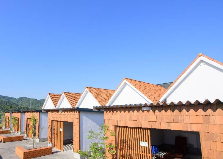 1.多目的スペースを備えた小さなホテル「淡路島ホテル・ロッジ GREEN COZY」