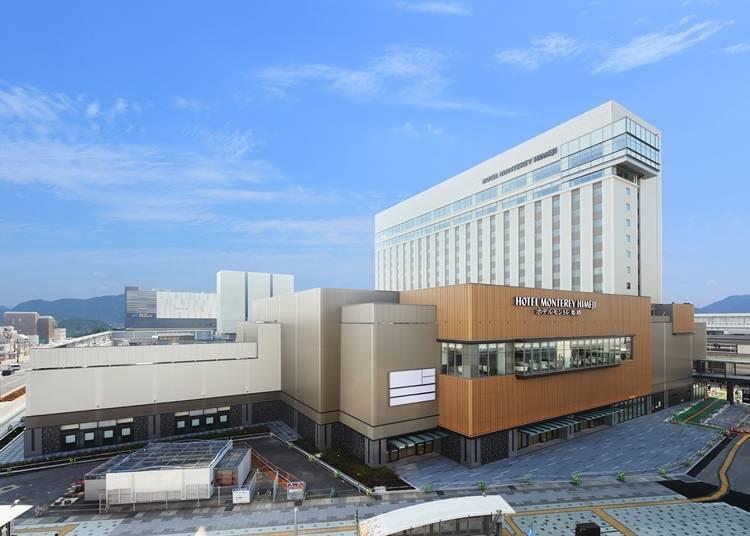 1. JR 히메지 역과 직결된 거대 도시형 호텔 '호텔 몬테레이 히메지'